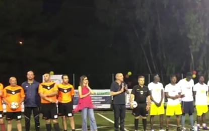 La Trepuzzi Cup 2018 prende il via con una partita speciale. Il sindaco Taurino: «Siamo la città dello sport, dell'accoglienza e dell'integrazione»