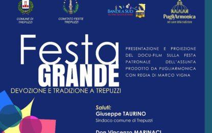 Domenica in piazza Assunta a Trepuzzi si proietta il docufilm che racconta la Festa Patronale