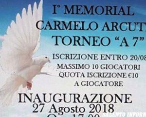 """Lunedì a Novoli va in scena il """"Torneo a 7"""" in memoria di Carmelo Arcuti"""