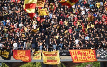 US Lecce, i giallorossi cedono nel finale: contro il Cittadella termina in pareggio