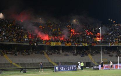 US Lecce, la prima al Via del Mare termina 2 a 2: la Salernitana agguanta il pareggio al 90esimo
