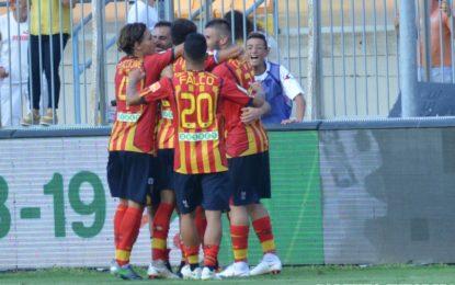 US Lecce, una doppietta di Palombi regala la prima vittoria ai giallorossi: contro il Venezia termina 2 a 1