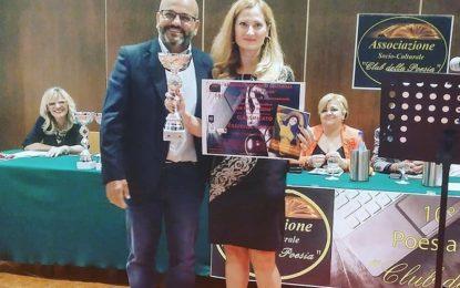 Primo posto per la novolese Antonella Tamiano al concorso letterario di Rende