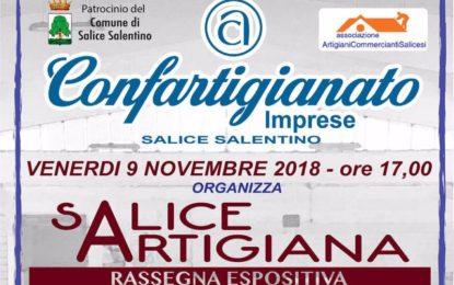 """""""Salice artigiana"""", venerdì a Salice Salentino la rassegna dedicata alle arti e ai mestieri organizzata da Confartigianato Imprese"""