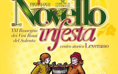 "Nel weekend a Leverano va in scena ""Novello in Festa"""
