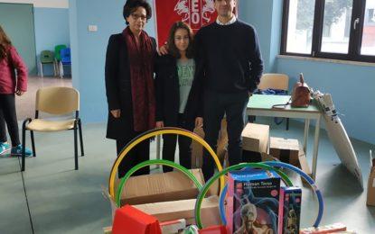 School4you, l'Associazione LEO Club Lecce Messapia dona 500 euro di materiale scolastico alle primarie di Salice Salentino