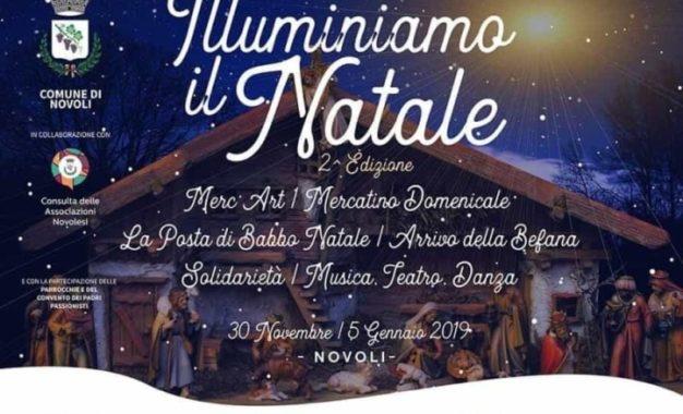 """A Novoli una serie di eventi per """"illuminare"""" il Natale"""