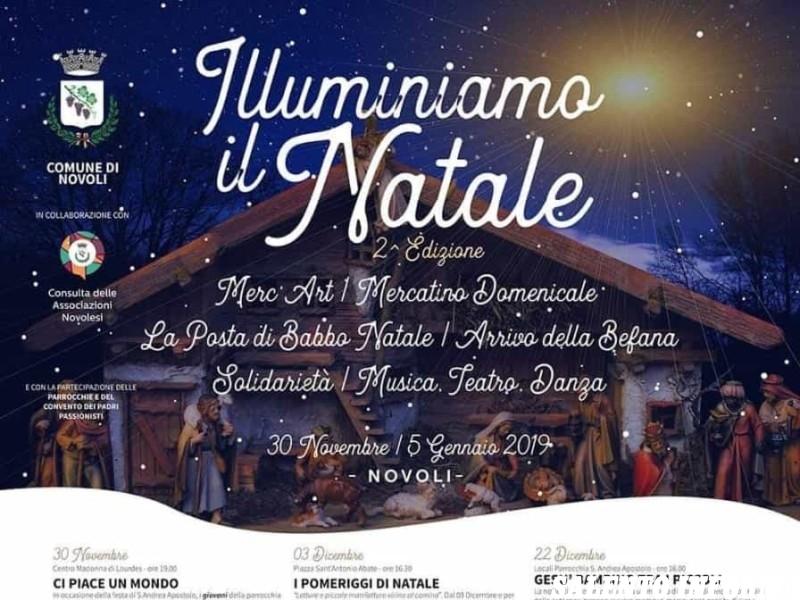 """... delle Associazioni e la partecipazione del Convento dei Padri  Passionisti ha dato il via alla seconda edizione dell evento """"Illuminiamo  il Natale"""". 73fcbf45c13"""