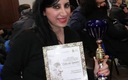 """""""Un caffè in ghiaccio con latte di mandorla"""" della guagnanese Valentina Perrone sul podio del Premio Città del Galateo 2018"""