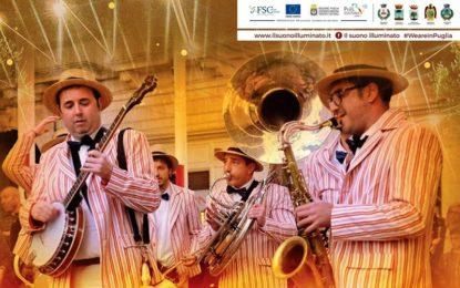 """Domenica a Salice Salentino """"Il suono Illuminato"""" porta sul palco il concerto gratuito della street band """"BeDixie"""""""