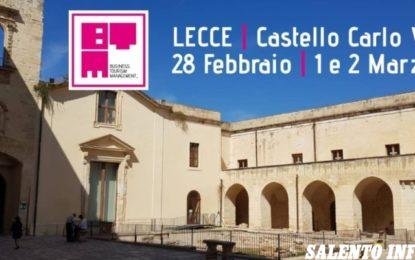 """Al Castello di Carlo V di Lecce va in scena la quinta edizione del """"Business Tourism Management"""""""