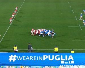 """Lecce, """"Sei Nazioni femminile"""": il match di rubgy tra Italia e Galles termina in parità"""