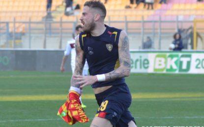 US Lecce, contro il Livorno i giallorossi recuperano un doppio svantaggio: La Mantia fa impazzire il via Del Mare