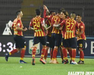US Lecce, prestazione super dei giallorossi: Pescara battuto per 2 a 0