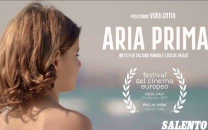 """""""Aria Prima"""", domani al Festival del Cinema Europeo la proiezione del """"corto"""" del regista guagnanese Gaetano Mangia"""